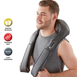Shiatsu Neck & Back Massager with Heat